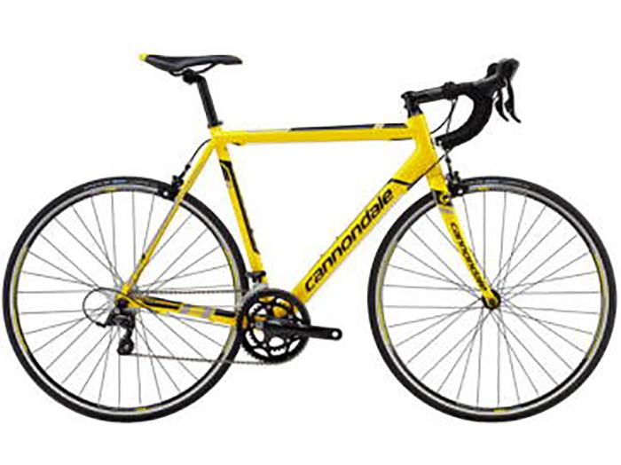 黄色いマウンテンバイク